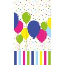 Duni Papier laminiert Tischdecken 120 x 180 cm Balloons & Confetti