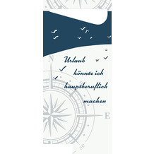 Duni Sacchetto Zelltuch Küste & Meer 190 x 85 mm 100 Stück