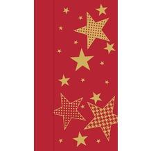 Duni Servietten 1-lagig Motiv Walk of Fame red 33 x 32 cm 750 Stück