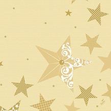 Duni Servietten 3-lagig Motiv Walk of Fame Cream 40 x 40 cm 250 Stück