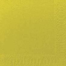 Duni Cocktail-Servietten 3lagig Zelltuch Uni kiwi, 24 x 24 cm, 250 Stück