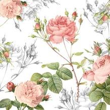 Duni Servietten 3lagig Tissue Motiv Garden Pride, 33 x 33 cm, 20 Stück