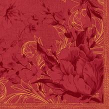 Duni Servietten Tissue Charm Bordeaux 33 x 33 cm 20 Stück