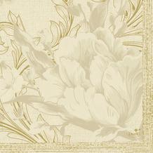 Duni Servietten Tissue Charm Cream 24 x 24 cm 20 Stück
