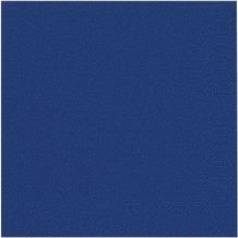 Duni Servietten Tissue dunkelblau 40 x 40 cm 50 Stück