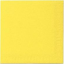 Duni Servietten Tissue gelb 40 x 40 cm 50 Stück