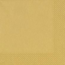 Duni Servietten Tissue gold 40 x 40 cm 20 Stück