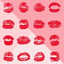 Duni Servietten Tissue Lips 33 x 33 cm 20 Stück