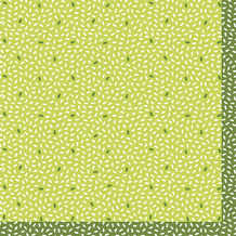 Duni Servietten Tissue Rice Green 33 x 33 cm 20 Stück
