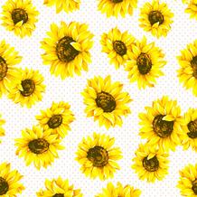 Duni Servietten Tissue Sunflower garden 33 x 33 cm 20 Stück