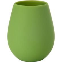 Duni Silikon Kerzenhalter Tropical Silikon, leaf green 103 x 85 mm 1 Stück