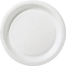 Duni Teller unlaminiert Pappe ø 22 cm weiß, 20 Stück