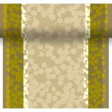 Duni Tête-à-Tête-Tischläufer alle 120 cm perforiert 40 x 2400 cm Autumn Berries Green