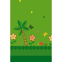 Duni Tischdecken aus Plastik Motiv 1 Stück Jungle Friends 118 x 180 cm