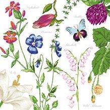 Duni Tissue Servietten 33 x 33 cm Carlie, 20 Stück