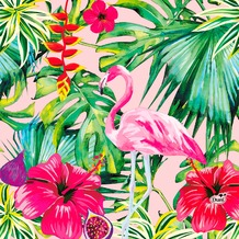 Duni Tissue Servietten Aloha Floral 33 x 33 cm 20 Stück
