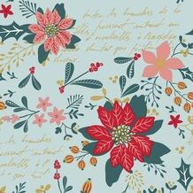 Duni Tissue Servietten Christmas Flower 33 x 33 cm 20 Stück