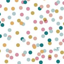 Duni Tissue Servietten Dream Dots 24 x 24 cm 20 Stück