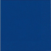 Duni Tissue Servietten dunkelblau 33 x 33 cm 50 Stück