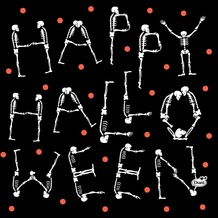 Duni Tissue Servietten Halloween Scare 33 x 33 cm 20 Stück
