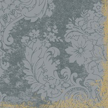 Duni Tissue Servietten Royal Grey 24 x 24 cm 20 Stück