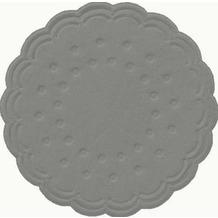 Duni Tissue Untersetzer grey ø 7,5 cm 25 Stück