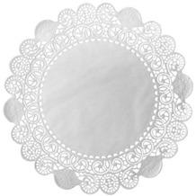 Duni Torten-Spitzen rund weiß, ø 17 cm, 250 Stück