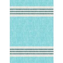 Duni Towel Napkin Raya blue 38 x 54 cm flat-pack 50 Stück