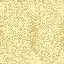 Duni Zelltuch-Servietten 3 lagig 1/ 4 Falz 24 x 24 cm Organic Honey, 250 Stück