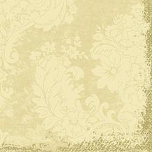 Duni Zelltuch-Servietten 3 lagig 1/ 4 Falz 33 x 33 cm Royal Cream, 250 Stück