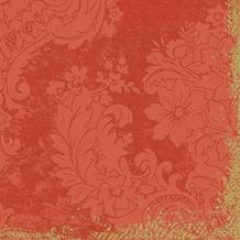 Duni Zelltuch-Servietten 3 lagig 1/ 4 Falz 33 x 33 cm Royal Mandarin, 250 Stück