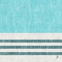 Duni Zelltuchservietten Raya blue 40 x 40 cm 1/ 4 Falz 250 Stück