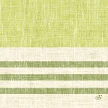 Duni Zelltuchservietten Raya kiwi 33 x 33 cm 1/ 4 Falz 250 Stück