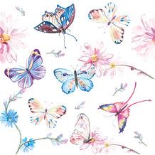 Paper+Design Servietten Tissue Butterflies 24 x 24 cm 20er