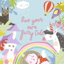 Paper+Design Servietten Tissue Fairytale 33 x 33 cm 20er