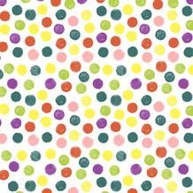 Paper+Design Servietten Tissue Playful Dots 33 x 33 cm 20er