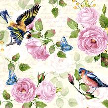 Paper+Design Servietten Tissue Vintage Garden 33 x 33 cm 20er