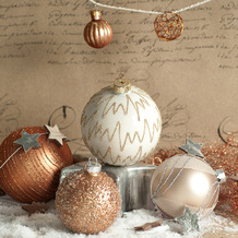 Paper+Design Servietten Tissue 33 x 33 cm Bauble arrangement 20er Pack