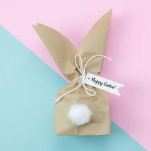 Paper+Design Servietten Tissue Bunny bag 33 x 33 cm 20 Stück
