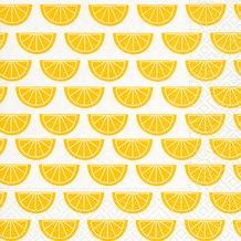 Paper+Design Servietten Tissue Citrus pattern 33 x 33 cm 20er