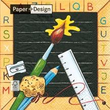 Paper+Design Tissue Servietten ABC 33 x 33 cm 20 Stück