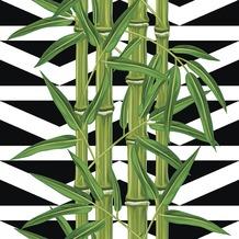 Paper+Design Tissue Servietten Bamboo leaves 33 x 33 cm 20 Stück