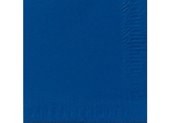 duni servietten 3lagig tissue uni dunkelblau 33 x 33 cm 50 st ck bei kaufen. Black Bedroom Furniture Sets. Home Design Ideas