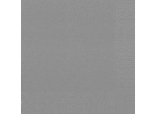 Duni Servietten 3lagig Tissue Uni granitgrau, 33 x 33 cm, 250 Stück