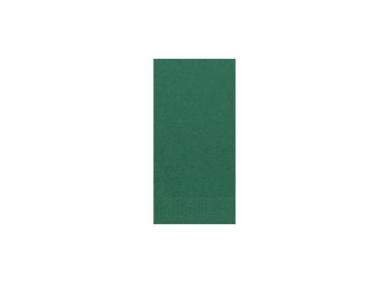Duni Servietten 3lagig Tissue Uni jägergrün, 33 x 33 cm, 250 Stück