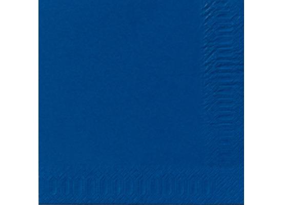 duni servietten 3lagig tissue uni dunkelblau 33 x 33 cm 250 st ck bei kaufen. Black Bedroom Furniture Sets. Home Design Ideas