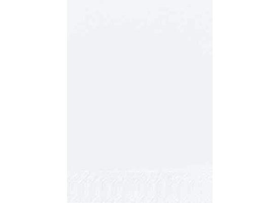 Duni Dinner-Servietten 2lagig Tissue Uni weiß, 40 x 40 cm, 250 Stück