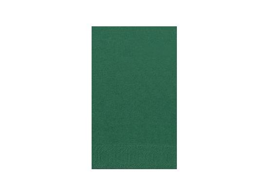 Duni Dinner-Servietten 2lagig Tissue Uni jägergrün, 40 x 40 cm, 250 Stück