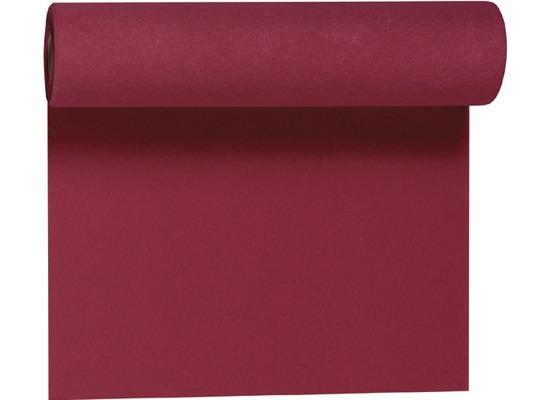 Duni Dunicel-Tischläufer Tête-à-Tête bordeaux 24 x 0,4 m 20 Abschnitte je 1,20 m lang, 40cm breit, perforiert 1 Stück
