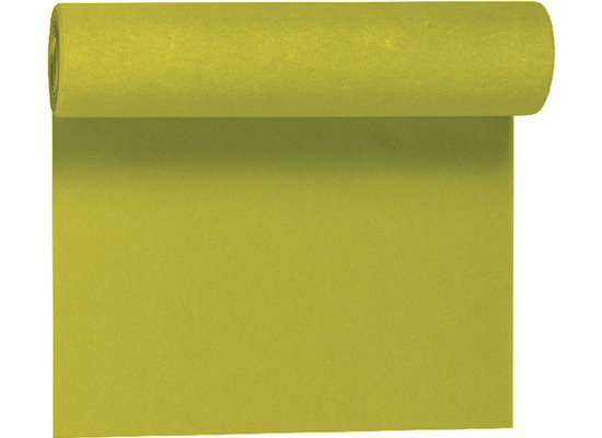 Duni Dunicel-Tischläufer Tête-à-Tête kiwi 24 x 0,4 m 20 Abschnitte je 1,20 m lang, 40cm breit, perforiert 1 Stück
